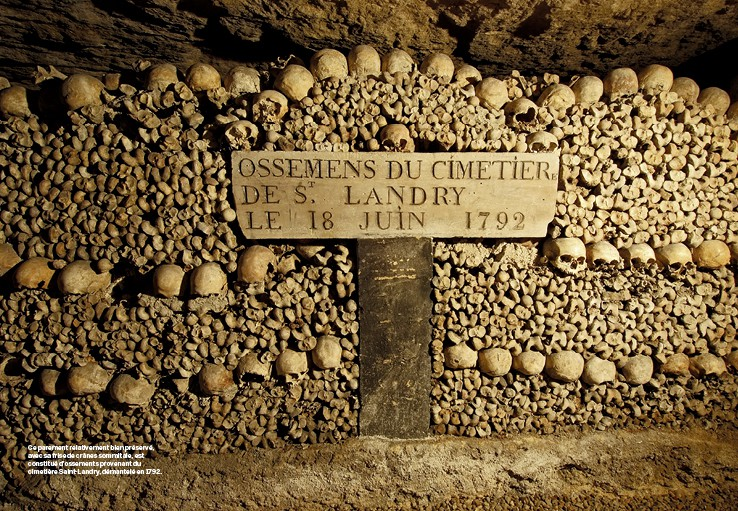 Dans les catacombes de paris - 1 8