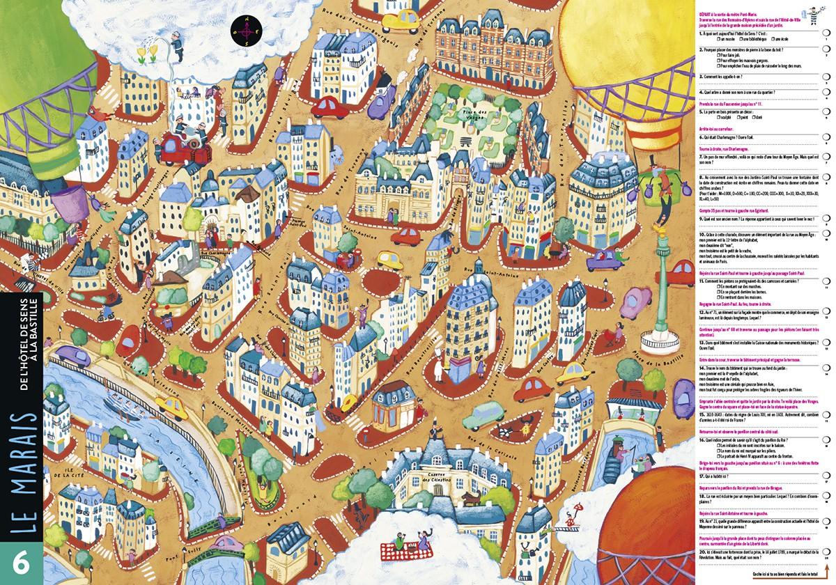 Parigramme Tout Paris Est 224 Lire